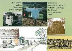 Habitat rural dans le Perche : les abords, les jardins, édicules et petits élevages