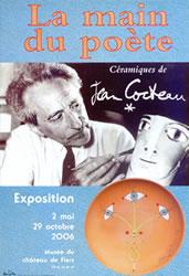 La main du poète - Céramiques de Jean Cocteau