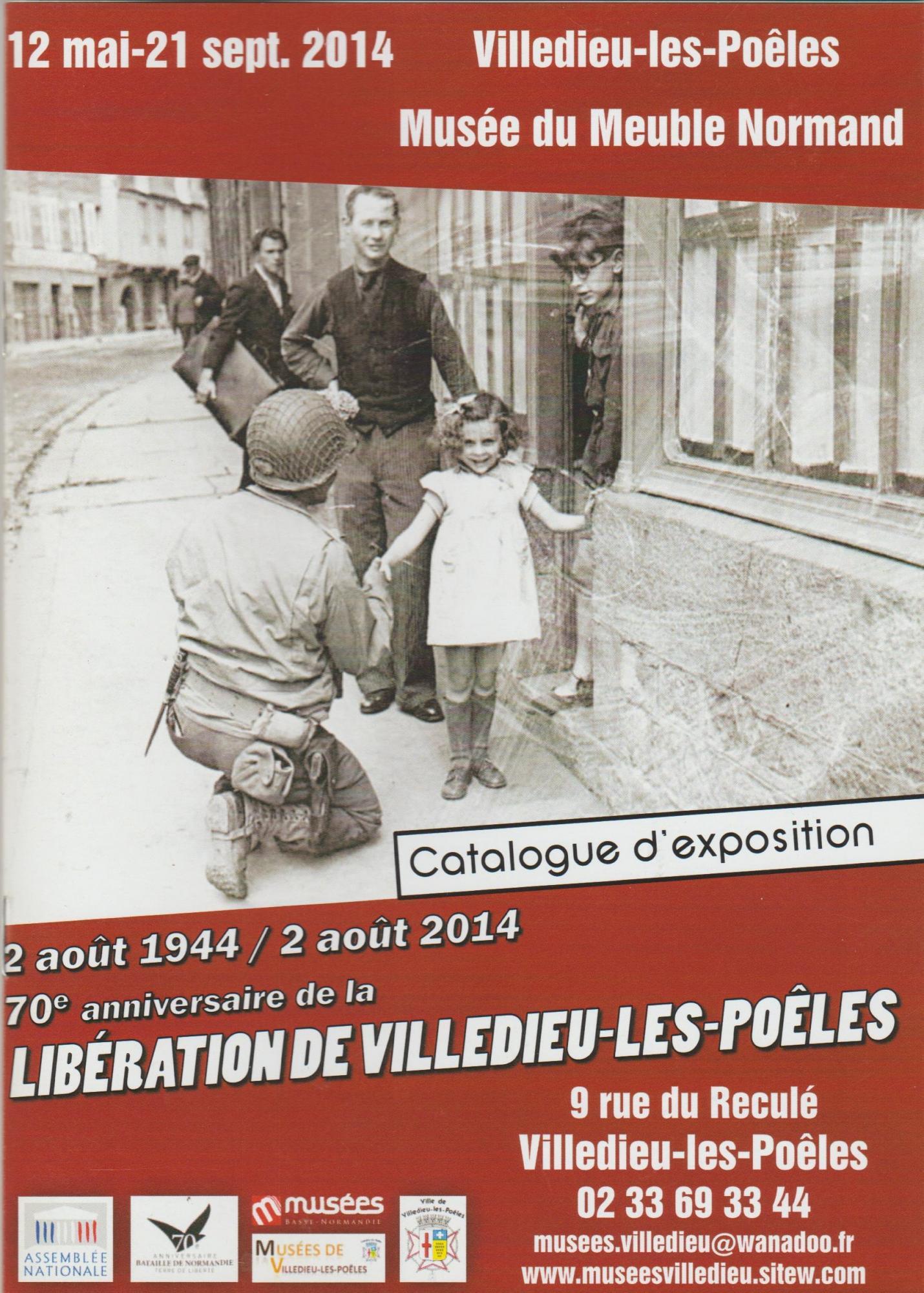 70e anniversaire de la Libération de Villedieu-Les-Poêles