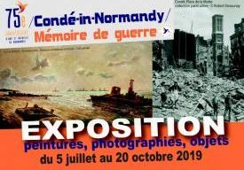 75e / Condé-in-Normandy / mémoire de guerre