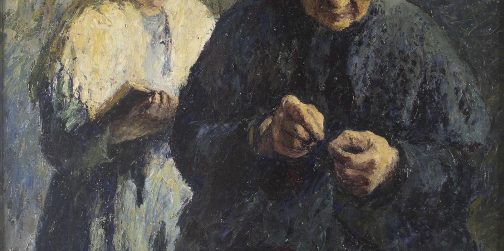 Peintres Ecole De Rouen marcel couchaux (1877-1939), peinture normande - réseau des
