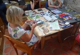 "Visite-atelier ""Collage poétique"""